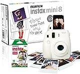 Instax Mini 8 Camera with 10 Shots - White