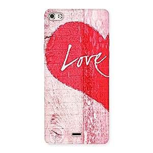 Impressive Love Pink Multicolor Back Case Cover for Micromax Canvas Silver 5