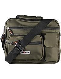 Lorenz Canvas Multi-Functional Shoulder Bag With Adjustable Shoulder Strap