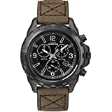 Timex Gents Expidition Wristwatch With Leather Strap