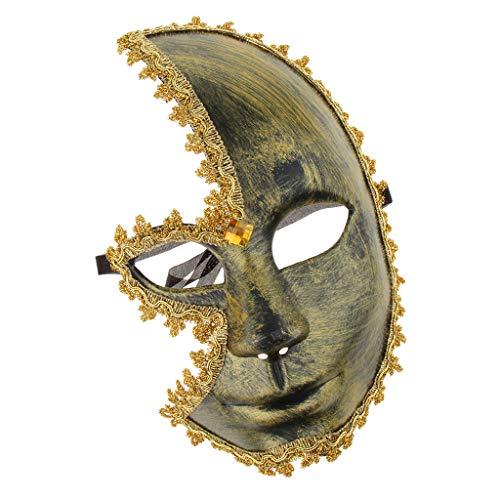 Baoblaze Halloween Cosplay Maske Venezianische Maske mit Musikalische -