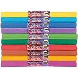 Idena 60016 - Papel crepé (50 x 250 cm, 10 rollos, colores surtidos)