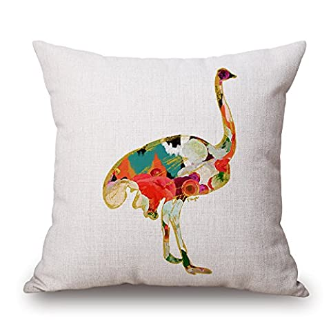 Beautifulseason Crane Pillowcover 20 X 20 Inches / 50 By 50 Cm Gift Or Decor For Bedding,bedroom,kids Room,father,office,family - Each