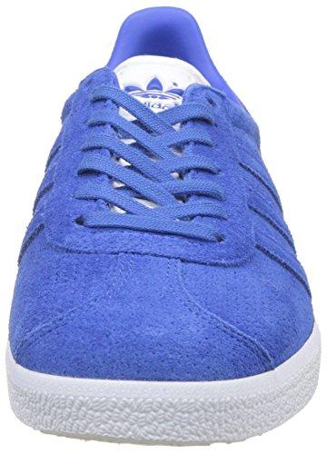 adidas Gazelle, Baskets Basses Homme Bleu (Blue/Blue/Gold Metallic)
