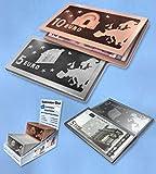 Banknoten Etui, Geldschein Etui, Geld geschmackvoll verschenken 5 € Etui