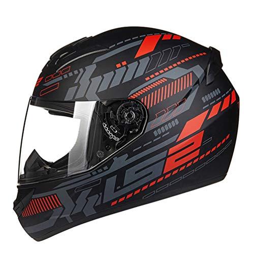 Adulto casco integrale del motociclo anti nebbia trasparente Lense moto Caschi unisex moto tappi di sicurezza per motocross