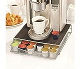kga-supplies Dolce Gusto kompatibel Stilvolle Kaffee Kapsel Display Ständer und Schublade für 36Pods