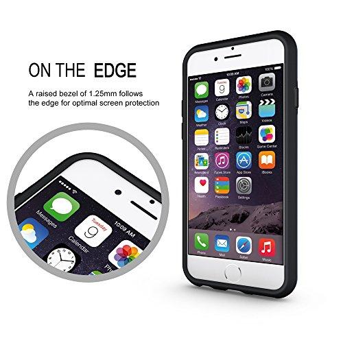 iPhone 6 Mesh Hülle,EVERGREENBUYING Abnehmbare Hybrid Schein iPhone 6S Tasche SchutzHülle mit Standhälter 2 Abdeckungen / Zubehör Case Cover für Apple iPhone 6 / 6S (4.7 Inch) Schwarz Grau