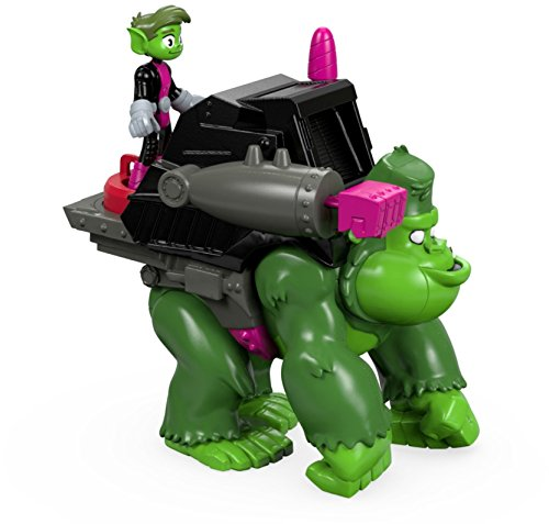Fisher-Price imaginext Teen Titans Go. Beast Boy & Gorilla Zahlen