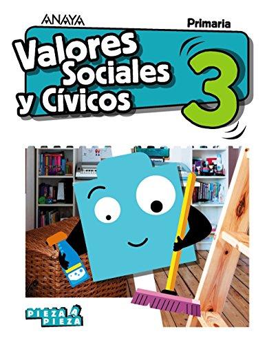 Valores sociales y cívicos 3 (pieza a pieza)