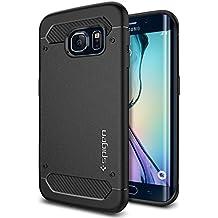 Spigen SGP11414 - Funda para Samsung Galaxy S6 Edge, Negro
