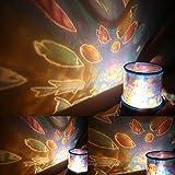 LED Neuheit Ozean Fisch Stimmungslicht Projektor Lampe Schön Nacht Lichter mit A Eingebauter Minilautsprecher Für Kinderzimmer Kinder
