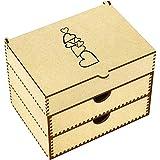 Azeeda 'Stack di Cuore' Scatola di vanità (VC00002949)