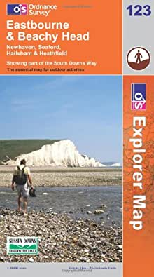 Eastbourne and Beachy Head (OS Explorer Map)
