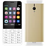 Goodone G230 Dual SIM (GSM + GSM) 2.8 inch TFT Display Keypad Mobile,(Gold)