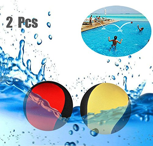 erball Wasser Flummi Springender Ball auf Wasser Für Jugendliche und Erwachsene Schnelltrocknender Lycra-Bezug Ball ()