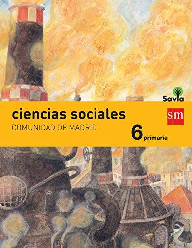 Portada del libro Ciencias Sociales: Comunidad de Madrid, 6 Primaria - 9788467583762