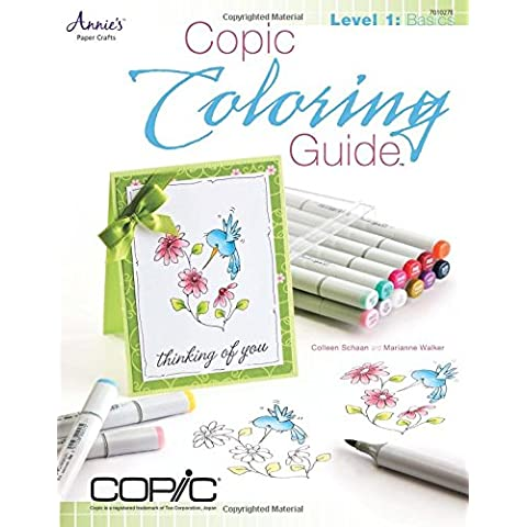 Copic Coloring Guide (Copic Coloring Guide, Level 1)