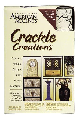 Rust Oleum Rustoleum American Accents Crackle Creations Kit Crackle Paint Antiqued Ivory