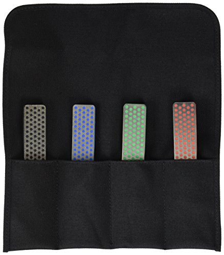 10,2cm Diamant Schleifstein Deluxe Kit of 4sortiert Pocket Modell Spitzer -