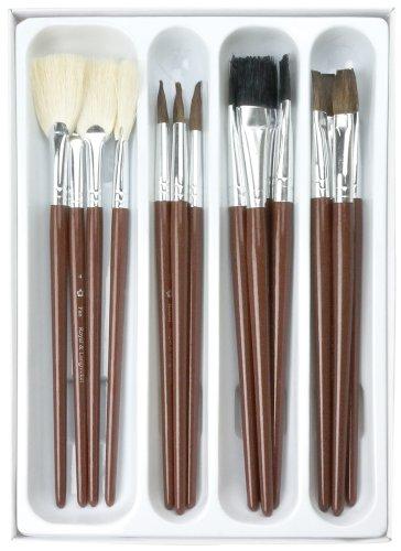 royal-langnickel-rcvp-105-set-de-brochas-vidriado-ceramico-de-pelo-de-camello-16-piezas