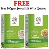 #8: FREE..Buy Inner Being Quinoa 500grm and Get 500grm Jowar Idly Rawa FREE