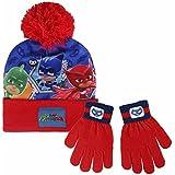Cerdá 2200002562 Set de bufanda, gorro y guantes, Rojo (Rojo 001), One Size (Tamaño del fabricante:Única) para Niños