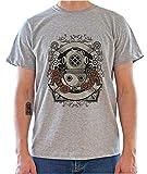 Dream Drunk Diver. Vintage Steampunk Graphic Mens T-Shirt Medium