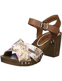 Shoe Tree Comfort - Sandalias de vestir de Material Sintético para mujer, color blanco, talla 36.5