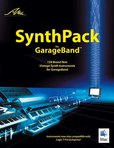 AMG SynthPack for GarageBand: 154 Brand New Vintage Synth Instruments (Drum Ipad)