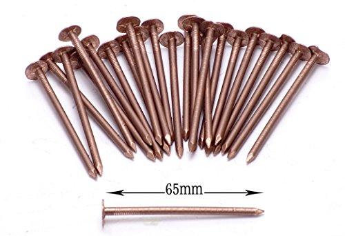 Kupfer-baum Die (Kupfer Baum Stumpf Killer - 10 x Sehr Große 65mm Kupfer Nägel)