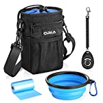 ORIA Dog Treats Bag, Dog Treat Training Pouch with Poop Waste Bag Dispenser, Training Clicker and Collapsible Travel Pet… 8