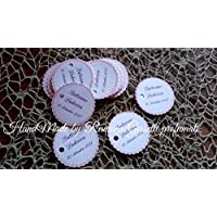 10 Biglietti/tags battesimo ,nascita,matrimonio