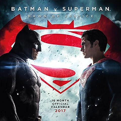 Calendario 2017 - Batman vs Superman/ Dawn of Justice