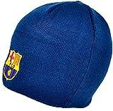 Neue Offizielle Fußball Mannschaft Erwachsenen Strick Beanie Mütze (verschiedene Mannschaften zur Auswahl.) alle mit offiziellen Etiketten. Gr. One size, Barcelona (Navy)