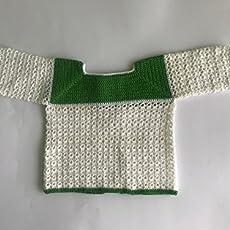 Jersey de crochet hecho a mano