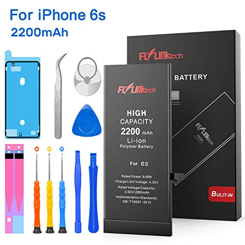 Batería iPhone 6s 2200mAH Reemplazo Alta Capacidad