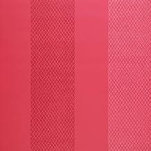 Mango corto Guild papel pintado - diseño de rayas - Rosa - Moya - P447/