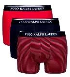 Best Ralph Lauren Men Boxers - Polo Ralph Lauren Men's Boxers Red Navy Stripe Review