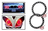 #6: Vheelocityin Red Angel Eyes SMD LED Ring Light Devil Light (set of 2)