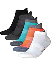 Calcetines de Deporte Low Cut Pro, para hombre, mujer y niño, 5 o 3 pares, calcetines cortos, tobilleros, deportivos,…