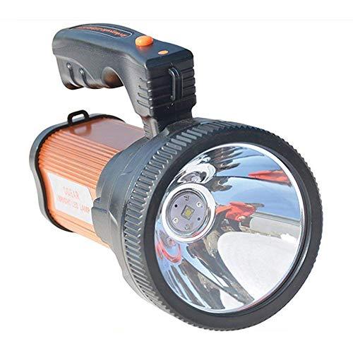 Handheld-LED-Strahler, superhelle Taschenlampe, wasserdichte LED-Suchlicht, Outdoor Camping, wiederaufladbare Taschenlampe, eingebaute 5600 mAh Lithium-Batterie, für Camping, Wandern, Notbeleuchtung - Handheld-taschenlampe