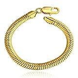 AMDXD Juwelier Vergoldete Damen Oder Herren Armband Geometrische Link Armbänder 20CM