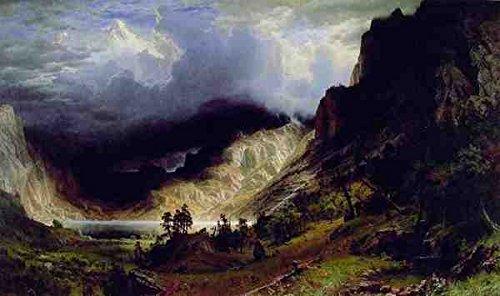 metal-sign-bierstadt-albert-storm-in-the-rocky-mountains-a4-12x8-aluminium