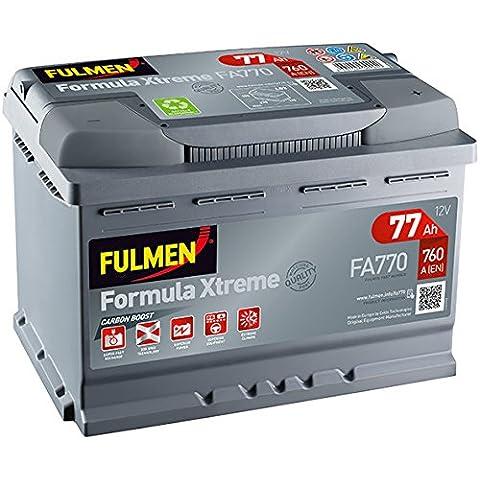 Fulmen - Batería para coche FA770 12V 77Ah 760A - Batería(s)