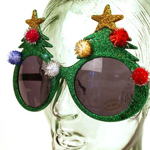 Weihnachten Brille