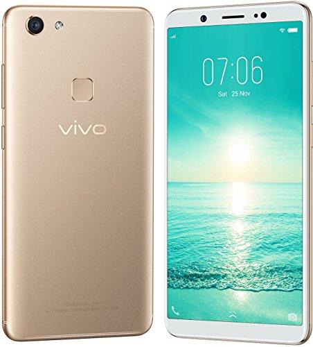 Vivo V7 (Champagne Gold, 4GB RAM, 32GB Storage) with Offers