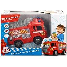 Dickie - Camión bombero  scania  27 cm (3814031)