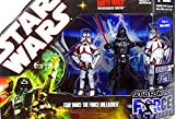 Hasbro The Force Unleashed mit Darth Vader und 2 Incinerator Troopers Star Wars 30th Anniversary Collection