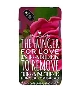 ifasho Designer Back Case Cover for Micromax Bolt D303 (Harder To Remove Hunger For Bread)